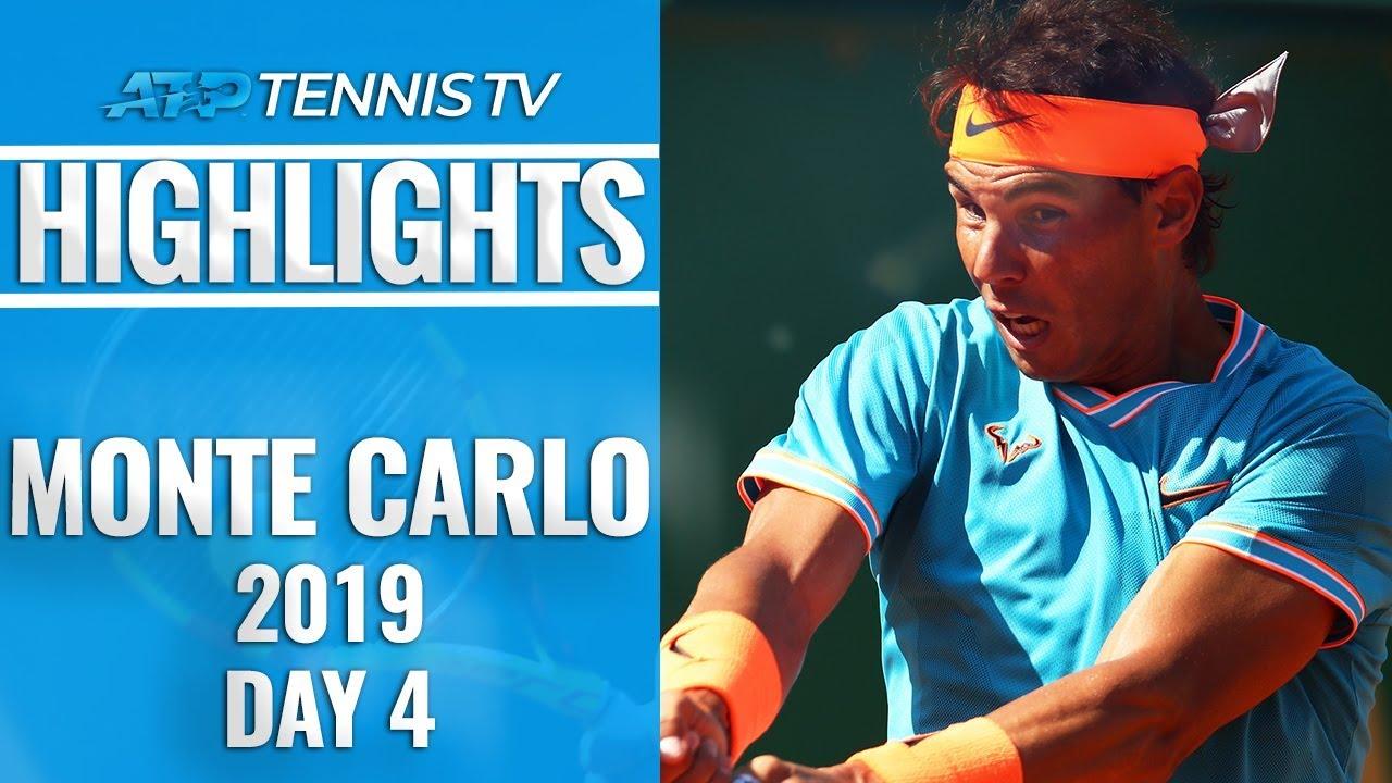 Nadal Strolls As Thiem and Zverev Progess, Nishikori Beaten | Monte-Carlo 2019 Highlights Day 4