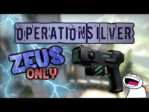 CS:GO - Operation Silver #2 - ZEUS ONLY
