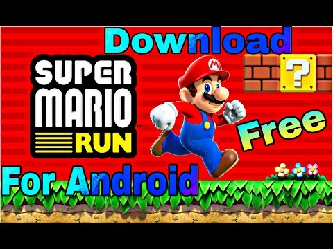 how to download Super Mario Run for android - 동영상