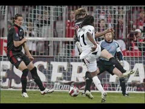 Bolton Wanderers away at Bayern Munich