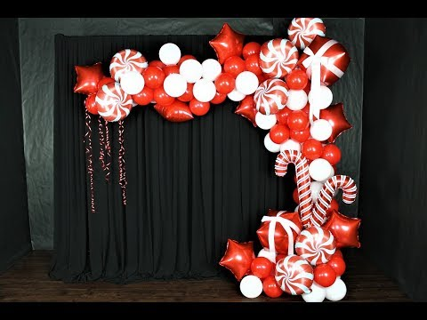 Christmas Balloon Garland DIY | How To | Tutorial | GIVEAWAY Closed