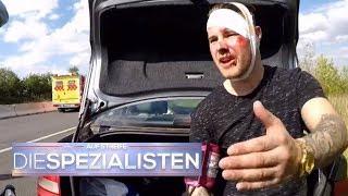 Blaulicht auf der Autobahn - Das ist kein Polizist! | Auf Streife - Die Spezialisten | SAT.1 TV