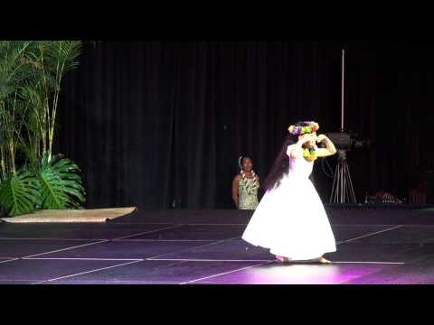 Queen Liliuokalani Keiki Hula Competition 2013