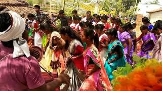 sarhul dance in damodar 2018