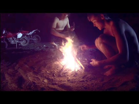 Motorbike Survival Night - Spearfishing EEL - Catch n Cook | TDB
