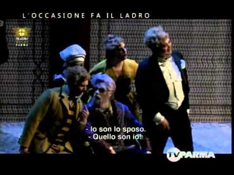 ROSSINI _ L'occasione fa il ladro(7) - Dov'è questo sposo - Quintetto