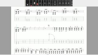 Naruto - Inoue Joe - Closer - Guitar Tutorial - Guitar Pro - TABS