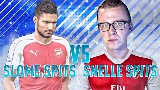 TIPS VOOR SLOME EN SNELLE SPITSEN! | FIFA 17 NEDERLANDS