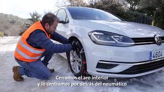 Volkswagen nos explica como  poner las cadenas metalicas