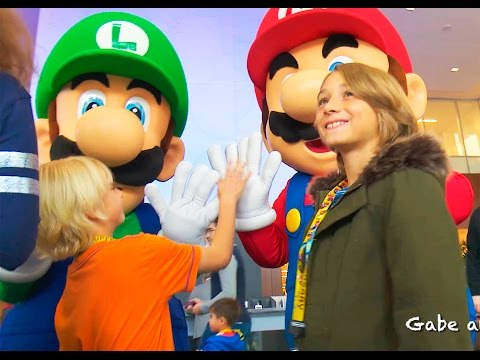 Nintendo Holiday Event 2015!!! | Gabe and Garrett
