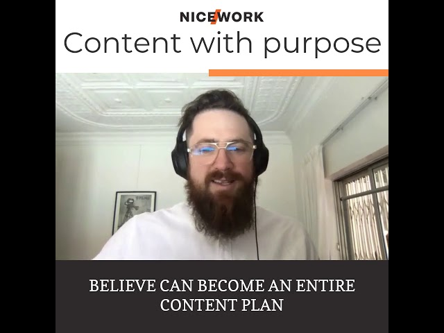 How to create content with purpose?