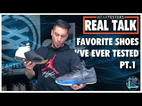 The BEST Basketball Shoes I've Ever Tested Pt.1   WearTesters Real Talk
