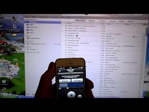 Créer une sonnerie à partir d'une musique MP3 pour Iphone 5
