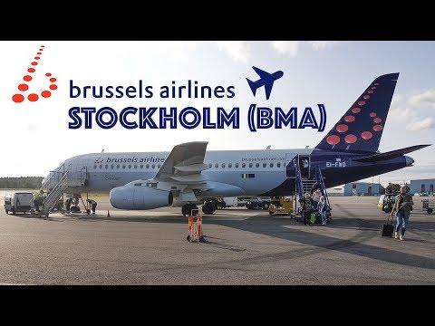 TRIP REPORT | Brussels Airlines to Stockholm | Sukhoi Superjet 100