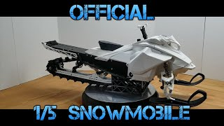 Official G4 Launch - 1/5 Scale Rc Snowmobile