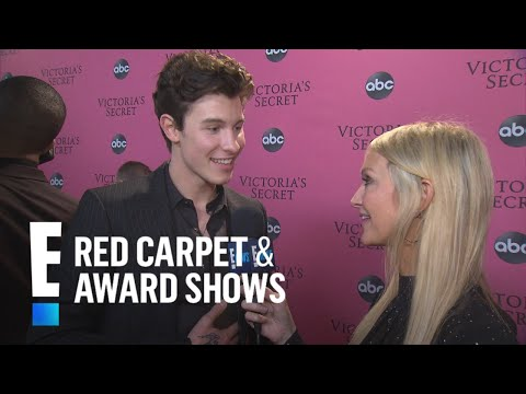 "Shawn Mendes Says It'll Be ""Hard to Focus"" During VS Fashion Show 