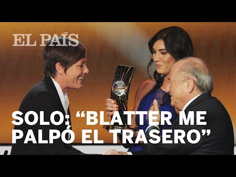 Hope Solo acusa a Joseph Blatter de haberle tocado el trasero | Deportes