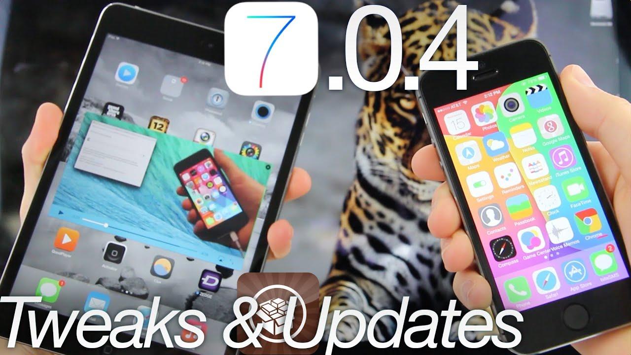 New Jailbreak Ios 7 7 0 4 Best Cydia Tweak Safe Mode Untethered 7 0 4 Security Curses Update Youtube