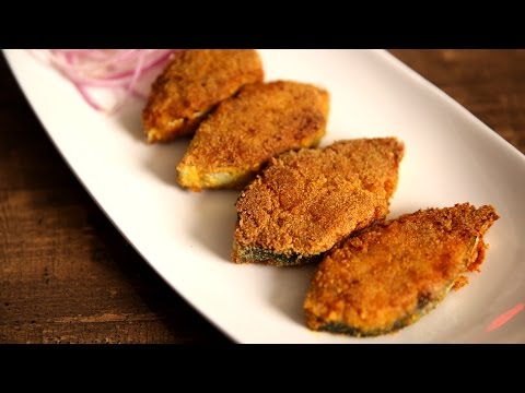 Rava Fish Fry Recipe | Mangalore Style Fish Fry – King Fish | Masala Trails