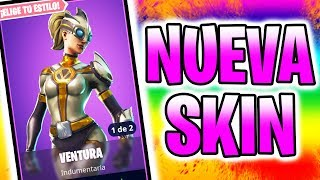 "🔴 OMG! 'NEW SKIN' EPIC ""VENTURA"" 570 VICTORIAS! - FORTNITE Bataille Royale"