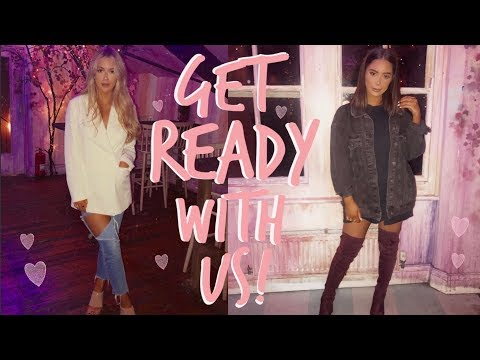 GET READY WITH US! | BESTIE DATE! | Sophia and Cinzia