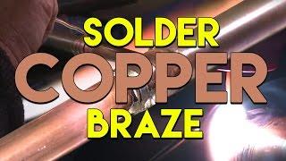 tig brazing vs soldering copper pipe   tig time
