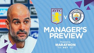 PRESS CONFERENCE | Pep Guardiola | Aston Villa v Man City