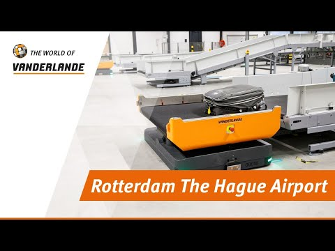 The World Of Vanderlande: Rotterdam The Hague Airport