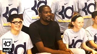 Back in Austin - Kevin Durant ProCamp & The Slow Mo Guys