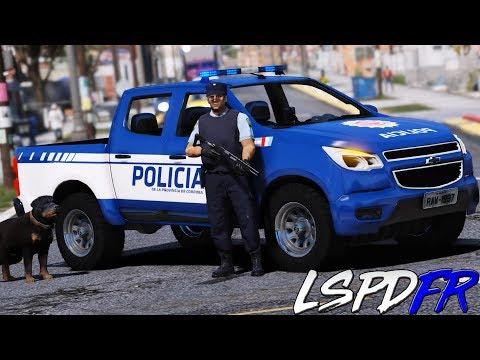 GTA 5 LSPDFR #203 POLICIA DE ARGENTINA - EL REGRESO DE CHOP  2.0 | TheAxelGamer