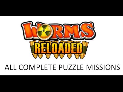 Worms Reloaded - All Complete Puzzle Missions |