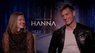 Mireille Enos u0026 Joel Kinnaman Interview: Hanna