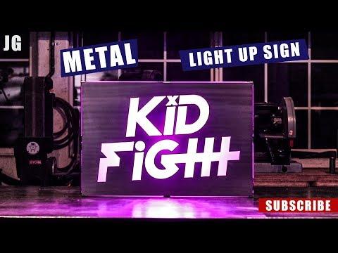 Metal Light Up Sign | JIMBO'S GARAGE