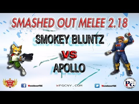 Smashed Out Melee V2.18 - Smokey Bluntz Vs. Apollo - Winners Finals