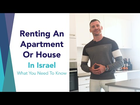 Renting An Apartment Or House In Israel