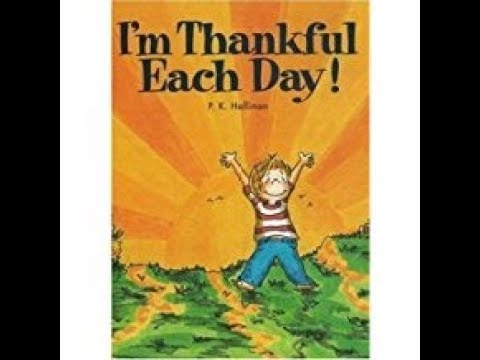 I'M Thankful Each Day!-- Stories for kids