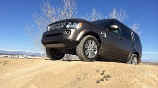2015 GMC Yukon vs Land Rover LR4 Approach Angle Mashup Review