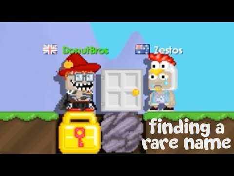 Growtopia - Trying To Find A Rare World Name (Skit)