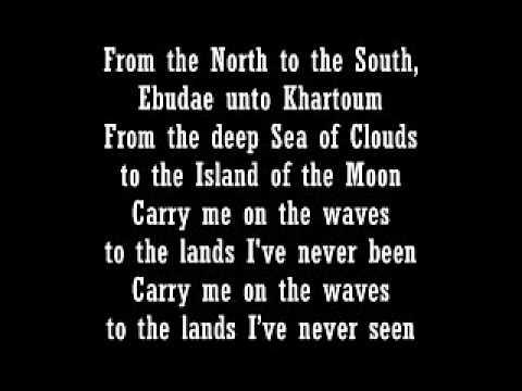 ORINOCO FLOW with lyrics -Enya