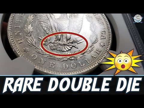 RARE Double Die Morgan Silver Dollar Found!