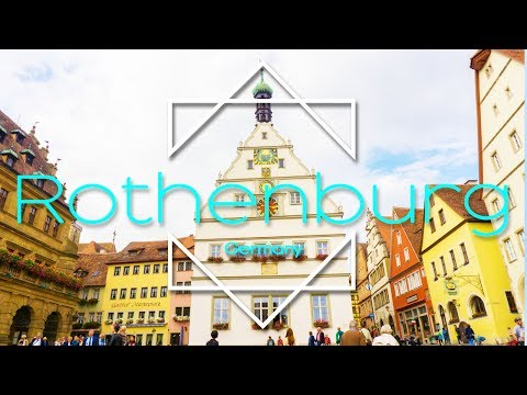 One day in Rothenburg ob der Tauber, Germany (Eurotrip Part 2)