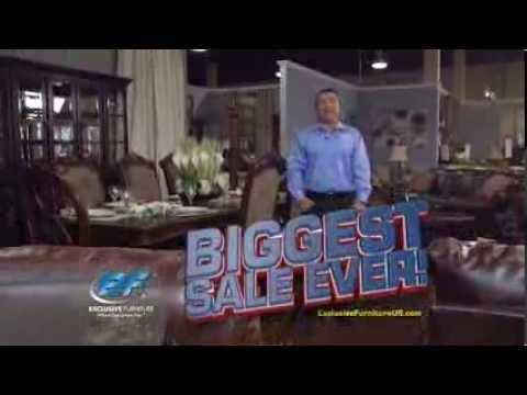 Exclusive Furniture   BIGGEST SALE