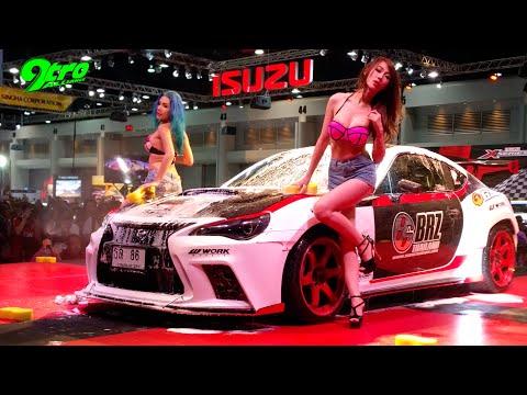 Bikini Carwash @ 2016 Bangkok International Auto Salon - Part 1