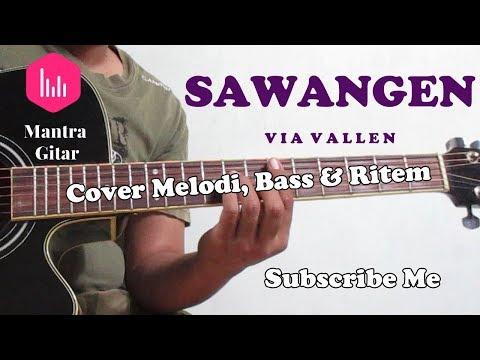 Via Vallen - Sawangen Cover Acoustic Mantra Guitar