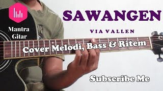 Gambar cover Via Vallen - Sawangen Cover Acoustic Mantra Guitar