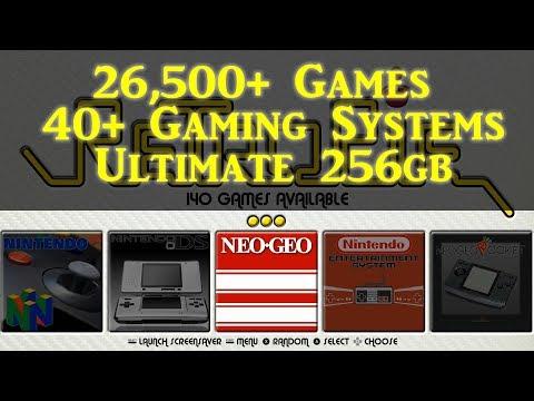 256gb Retropie 4 4 Ultimate Pi 3 B+ Image Wolfanoz - Arcade Punks