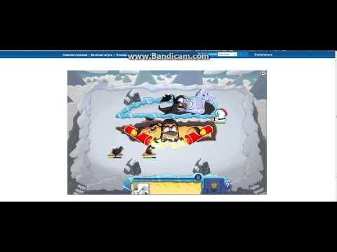 Регистрация в игре Клуб пингвинов