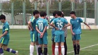 2016  中學足球學界  B Grade 全完中學  VS  李賢堯紀念中學