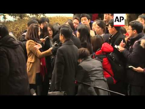 Former Korean Air executive who forced flight return over bag of nuts arrives at court
