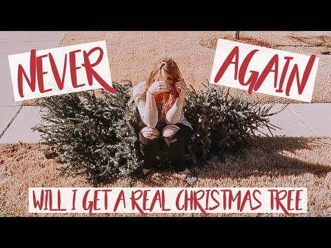 TAKING DOWN THE CHRISTMAS TREE | CLEAN WITH ME |  ALLERGIC TO PINE TREES |